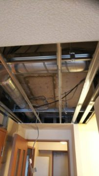 水漏れ復旧工事