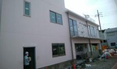 緑区で某施設の新築工事を行いました(外観)