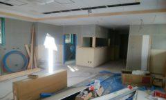 緑区にて某施設の新築工事を行いました(カウンター)