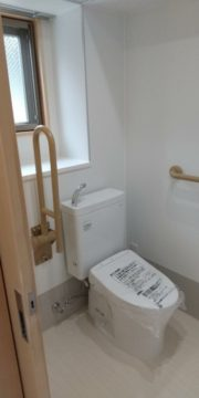 緑区にて某施設の新築工事を行いました(トイレ、お風呂)