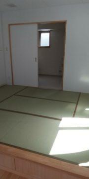 緑区の重症心身障害者通所施設「風の会」の新築工事を行いました(和室、造り付け棚)※中日新聞に掲載されました