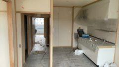 東浦町にて県営住宅の改修工事を行いました(内装、珪藻土調)
